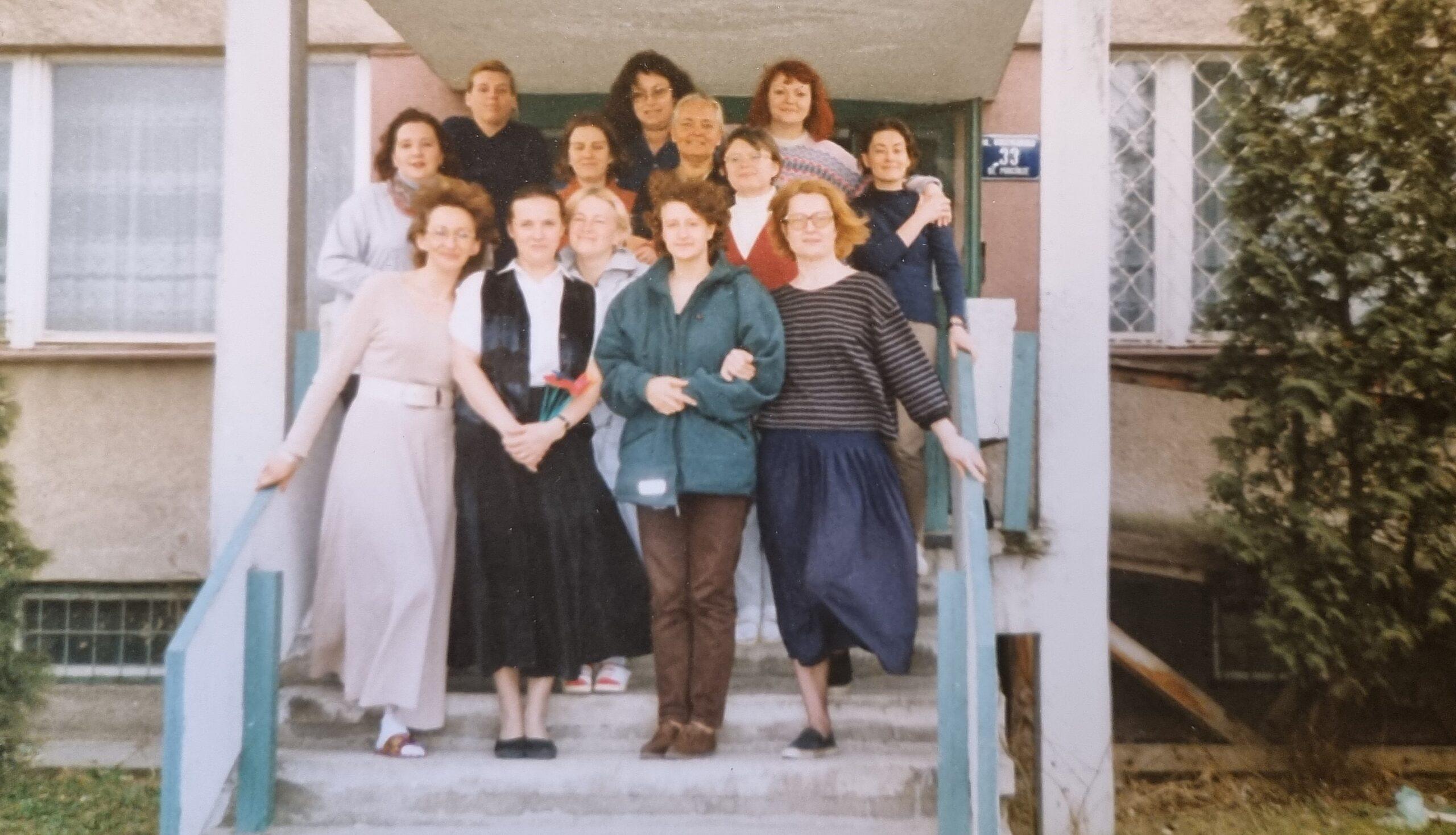 Ośrodek Gestalt Zofia Pierzchała z grupą 1990