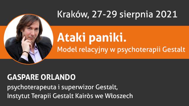 "Warsztat z Gaspare Orlando ""Ataki paniki"""