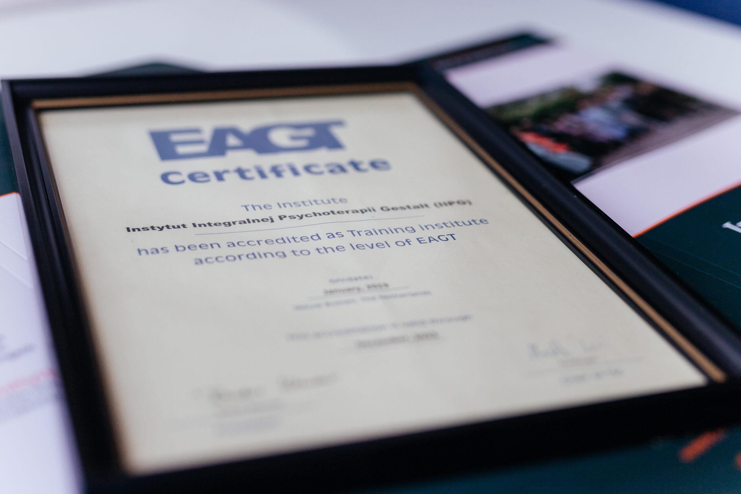 Akredytacja IIPG w EAGT