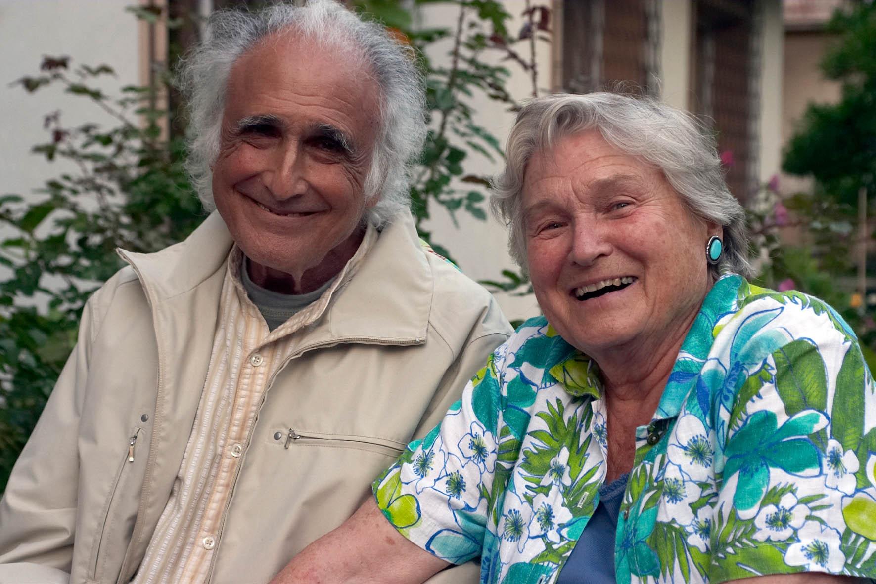 Steven Schoen z żoną