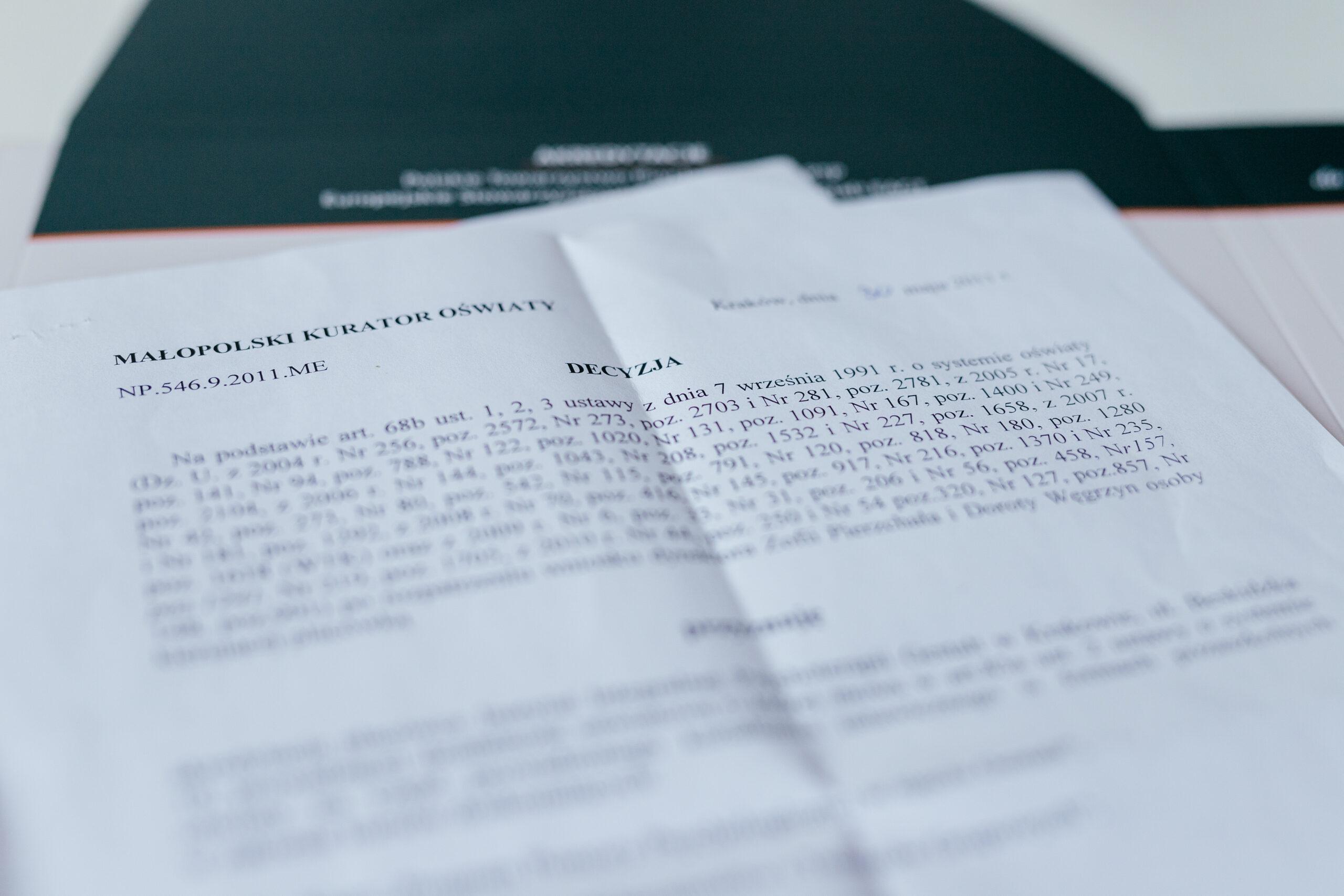 Akredytacja IIPG w Kuratorium Oświaty